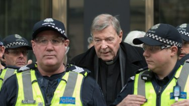 Cardinal George Pell was convicted last year.
