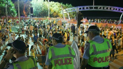 The Cauldron filled up but cold water poured on schoolies parties