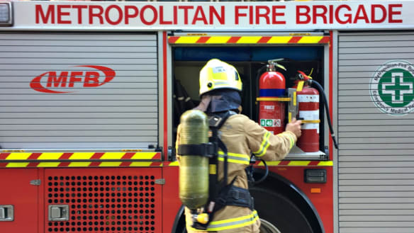 Fireys to the rescue after teen's finger caught in toilet roll holder