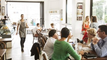 Waiters are core to your cafe business so please ensure they have a modicum of training.