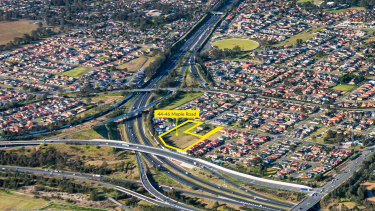 A land bank at 44-46 Maple Road, Casula in Sydney's west is being sold by receivers.