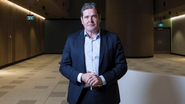 Healthscope chief executive Gordon Ballantyne at the new Northern Beaches Hospital in Frenchs Forest.