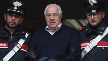 Settimo Mineo, who allegedly took over as the Palermo head of Cosa Nostra, was among 46 people arrested.