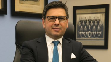 Cronulla chairman Dino Mezzatesta is bullish about the club's future.