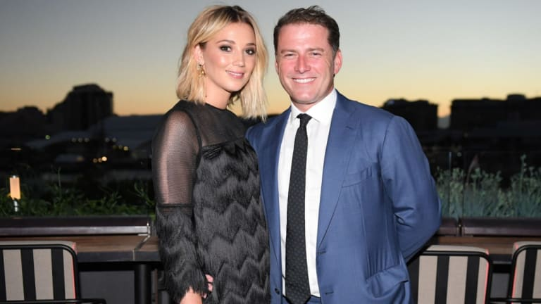 Karl Stefanovic and Jasmine Yarbrough.