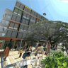 Shipping container hotel plan for Footscray
