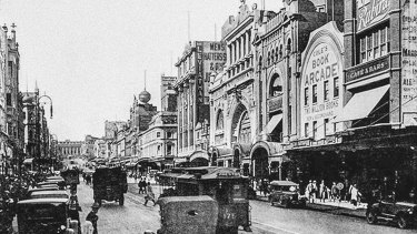 Cole's Book Arcade opened on Bourke Street in 1883. Not just books were sold there, though.