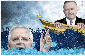 Anthony Albanese wants to render Morrison's government unelectable by making it look incompetent and corrupt.