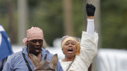 'Freedom or Death!': In the Deep South, a reenactment of a forgotten slave rebellion