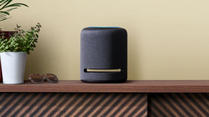 Amazon's first serious speaker has a good sound, but needs fine-tuning
