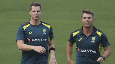 Steve Smith and David Warner are returning to South Africa for the first time since the ball tampering scandal.