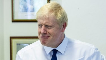 It's not funny: New British Prime Minister Boris Johnson needs to ditch the theatrics.