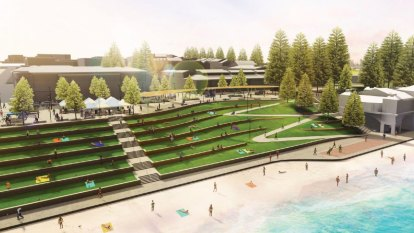 Cottesloe could get multistorey car park in big redesign floated for the iconic beachfront