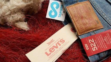 Levi's and Speedo are amongst wellknown brands that use the recycled materials thread.