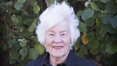 Muriel Barnes, who died in 2018.