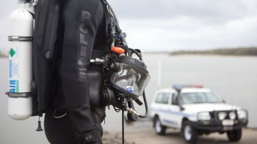 Rescue divers failed to find any trace of Andrew Page despite an extensive search off Elliot Heads.