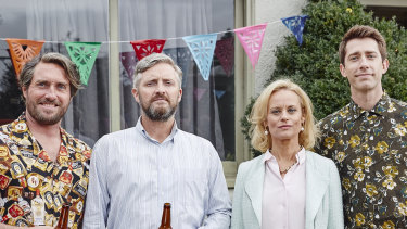 Mr Black  is a nicely dry local take on the Father of the Bride plot.