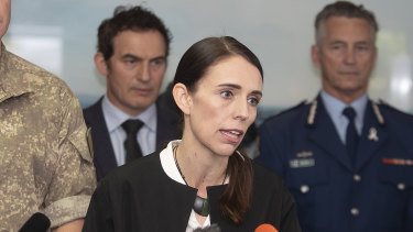 New Zealand Prime Minister Jacinda Ardern has invited Australians to join in a moment of silence.