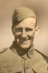 Tom Brislane, who was killed aged 31.