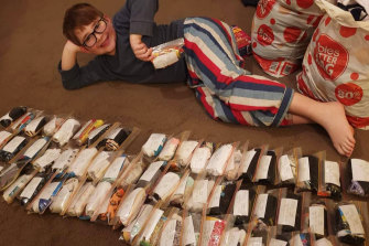 """""""I just thought that socks are something that are very important for people,"""" he said."""