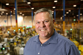 Amazon Australia director of operations Craig Fuller says the company's growth locally is beating expectations.
