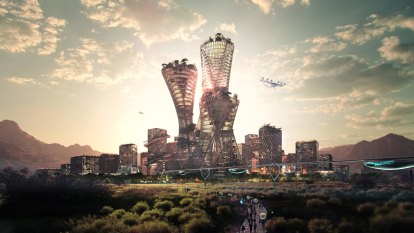 The billionaire who wants to build a $540b utopian city in the US desert