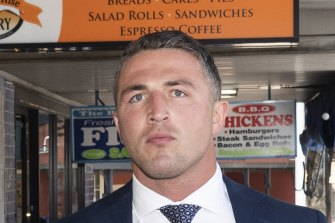 """Sam Burgess is weighing up whether to go bush to start his """"coaching apprenticeship""""."""