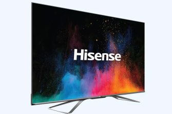 Hisense's Dual Cell 4K LCD TV features two million local dimming zones.