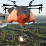 Delivery via Skywhale? ACT government's flights of fancy over drones