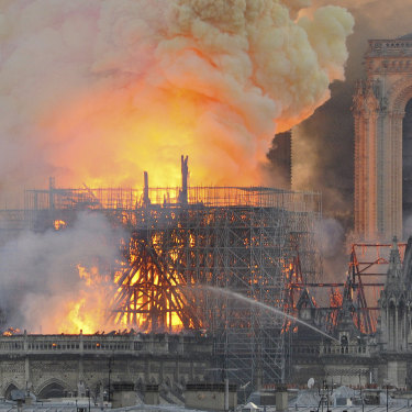 The Notre-Dame fire in Paris gave the Palace of Westminster project momentum but progress is at risk amid a review.