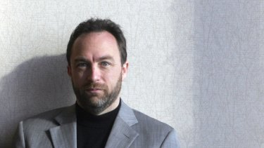 Wikipedia co-founder Jimmy Wales.