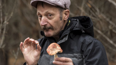 Diego Bonetto has been spreading his knowledge of foraging since arriving in Australia in the 1990s.