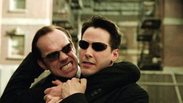 The Matrix, starring Keanu Reeves, was co-produced by Warner Brothers and Village Roadshow Pictures.