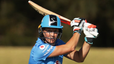 Sophie Devine had a stellar season for the Adelaide Strikers.