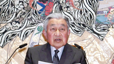 Emperor Akihito marking his 85th birthday.