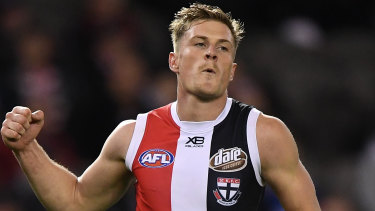 Jack Newnes is leaving the Saints for the Blues.