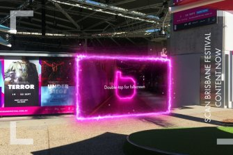 Augmented reality experiences have been incorporated as part of events such as the Brisbane Festival.