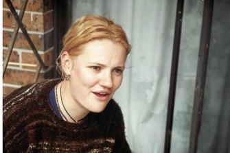 Jacinta Parsons, aged 20, in 1995, before her Crohn's disease diagnosis.