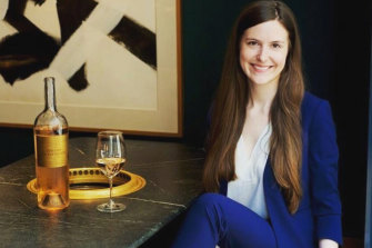 Sommelier Victoria James had to think quickly when a difficult customer rejected an expensive bottle of wine.