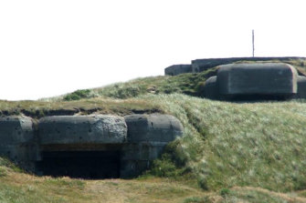 The owner of Bunkeren recalled discovering wartime bunkers as a child. She gave this image to the architect James Stockwell as inspiration.