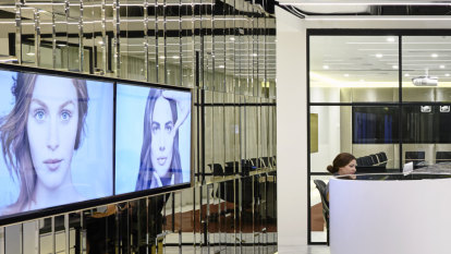 Gloss and glam in L'Oreal headquarters