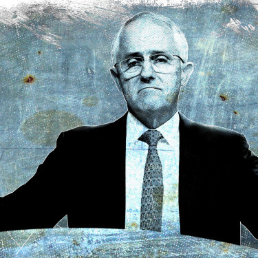At the 2016 election, the Turnbull government lost 14 seats and was reduced to a single-seat margin. Artwork: Dionne Gain