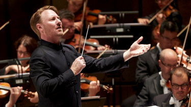 Ben Northey conducts the Melbourne Symphony Orchestra.