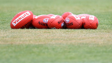 AFL players and club staff are expecting to remain virtually housebound when they return to training.