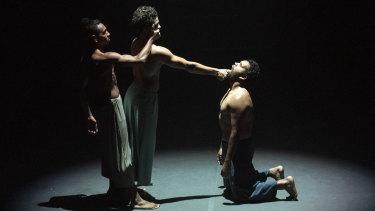 Gusta Mara, Kallum Goolagong and Neville Williams-Boney in BitterSweet by Deborah Brown.