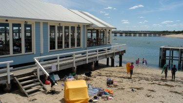 The beach at Barwon Heads. Locals want answers over  the deaths of young adults in the town.