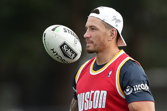 Trent Robinson isn't planning any selection shocks for Sonny Bill Williams' return NRL clash with Canberra.