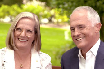 Malcolm and Lucy Turnbull have spoken out about the need to act on climate change during an address in Sydney to the Coalition for Conservation.
