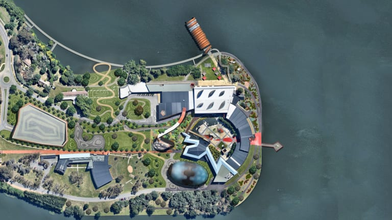 Artists impressions from the National Museum of Australia's Master Plan