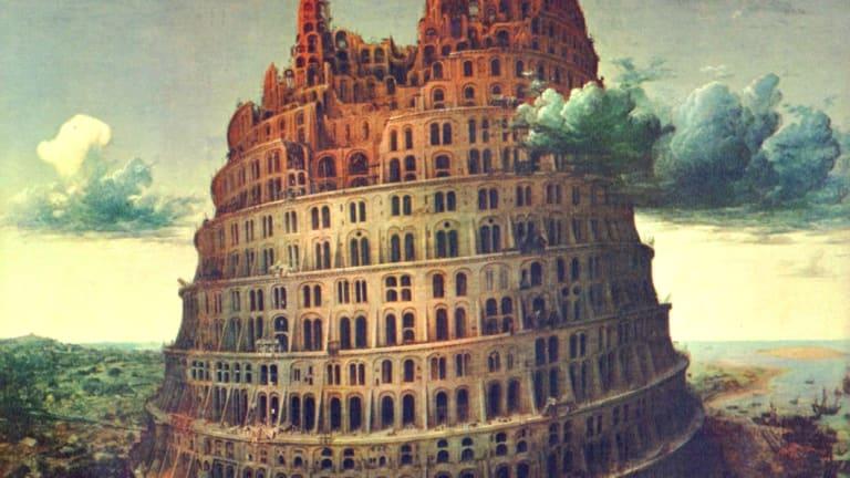 Bruegel's Tower of Babel.